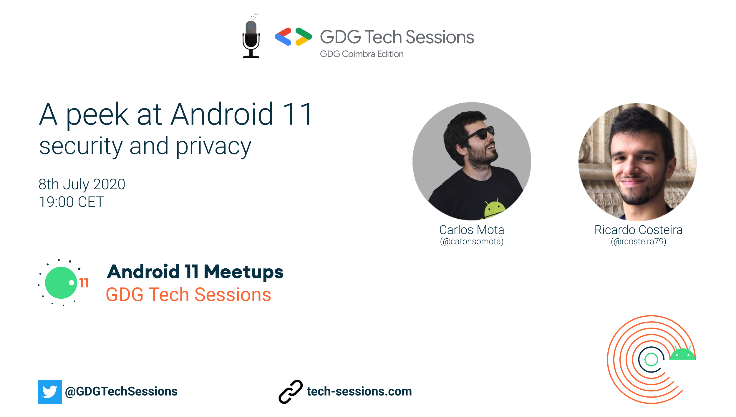 GDG Tech Sessions | A peek at Android 11 security and privacy