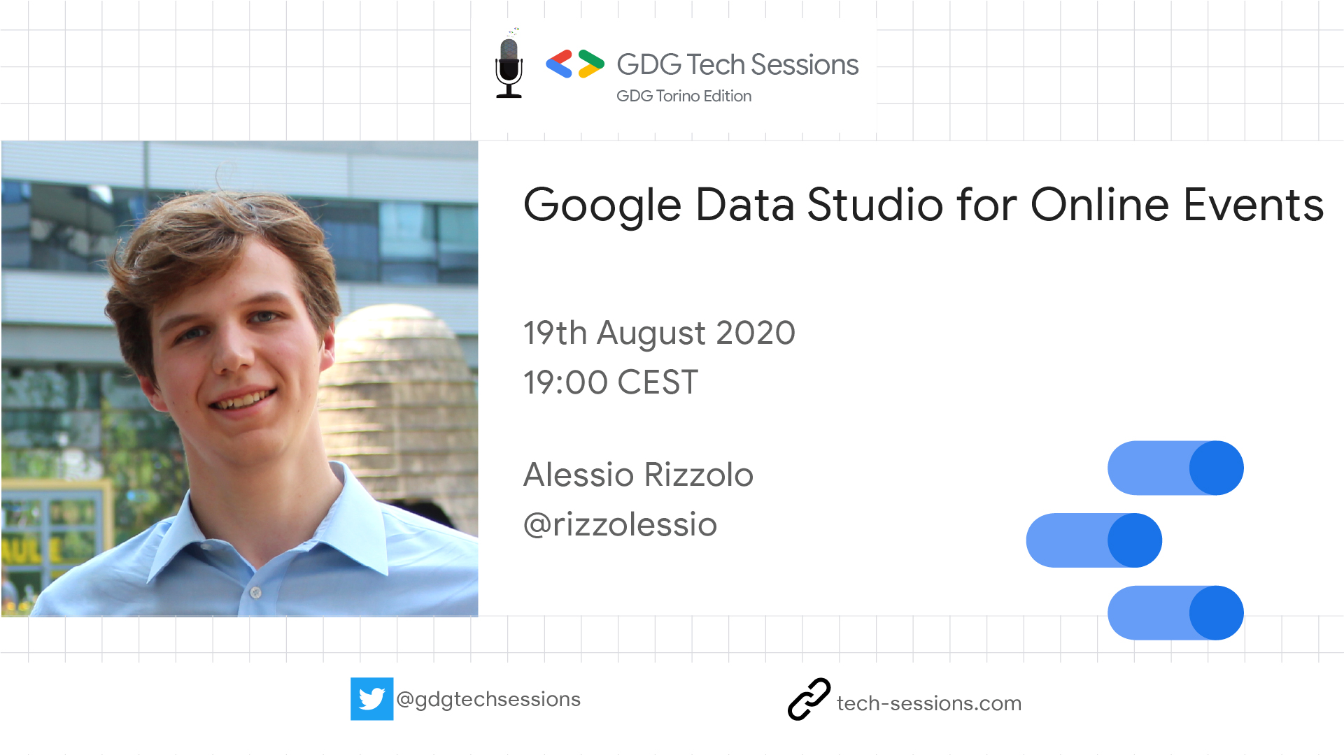 Google Data Studio for Online Events